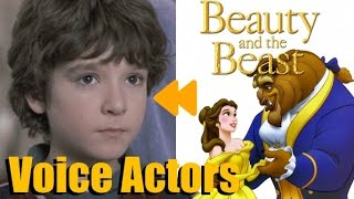 """""""Beauty and the Beast"""" (1991) Voice Actors and Characters"""