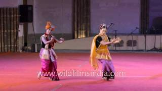 Tanou - a classical dance by Jagoi Marup from Manipur : Part 1