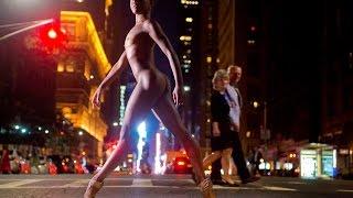 Ballet Dancers Glide thru NYC - NAKED - in Stunning Photos...