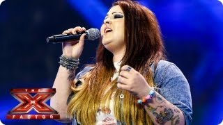 Jade Richards sings Back To Black by Amy Winehouse - Arena Auditions Week 2 -- The X Factor 2013