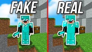 FAKE DIAMOND ARMOR CHALLENGE in Minecraft MONEY WARS...