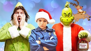 Buddy the Elf helps funny kids prepare for Christmas in Holiday video