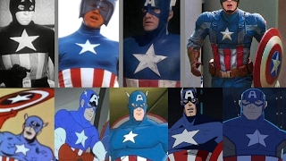 Captain America - Evolution in Cinema & TV