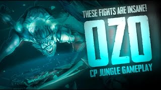 Vainglory Gameplay - Episode 256: INSANE FIGHTS! Ozo |CP| Jungle Gameplay  [1.24]