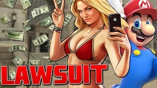 10 BIGGEST Video Game LAWSUITS In History!