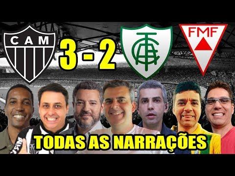 Xxx Mp4 Todas As Narrações Atlético MG 3 X 2 América MG Campeonato Mineiro 2019 3gp Sex