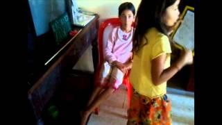 Comedy Funny Children Video Clip 2015 | Chidren teach each other in Cambodia