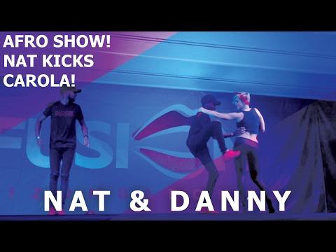 Nat & Dany Afro House Kuduro Dance Show 2017 Kizomba Fusion Roma Festival