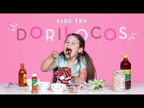 Kids Try Dorilocos Kids Try HiHo Kids