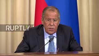 Russia: Lavrov slams