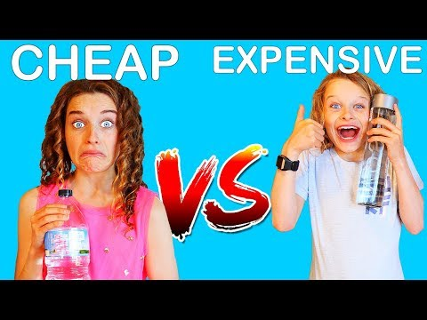 CHEAP VS EXPENSIVE 2 Guessing Challenge w The Norris Nuts