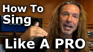 How To Sing Like A PRO - Open Throat Technique - Tutorial - Ken Tamplin Vocal Academy