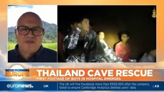 Thailand Cave Rescue: first footage of boys in hospital emerges
