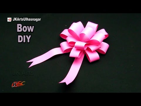 Xxx Mp4 DIY Easy Paper Bow Gift Wrap How To Make JK Arts 1051 PaperBow 3gp Sex