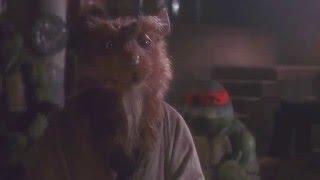 Teenage Mutant Ninja Turtles (1990) Splinter's Story Scene