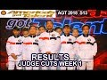 RESULTS JUDGE CUTS Week 1 Who Advanced to Live Show? America's Got Talent 2018 Judge Cuts AGT