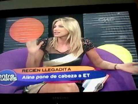 Alina Moine en Entre Titulares de Perú Dakar World Tour Parte 1 de 7 16 Abril 2012