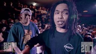 FlipTop - Sayadd vs Omar Baliw @ Isabuhay 2017