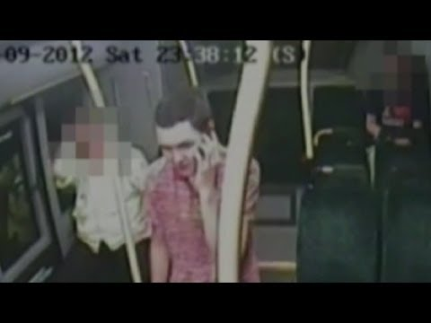 CCTV: Teenager finds out he's a murderer, on the phone!
