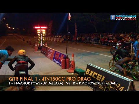 MUSC Kulim 201m Drag Race 2015 - 4t150cc Pro Drag