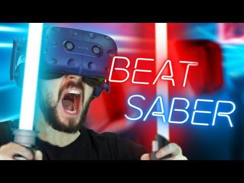 AM I A KPOP YET Beat Saber 2 HTC Vive Virtual Reality