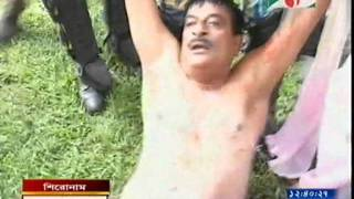 Police action on Joynal abedin Faruk Opposition party BNP chief whip of Parlament In Bangladesh.avi