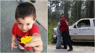 24 Hours After This 3-Year-Old Disappeared. Dog Picked Up A Scent The Search Team Wasn