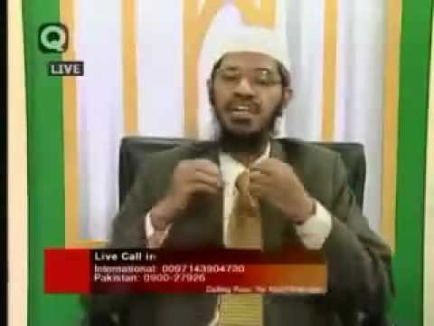 zakir naik-women can visit to male doctor-did women can work in islam-why people died of no food