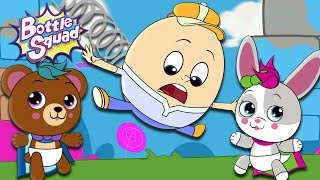Bottle Squad   Humpty Dumpty   Nursery Rhymes   Kids Videos   Rhymes For Children   superheroes