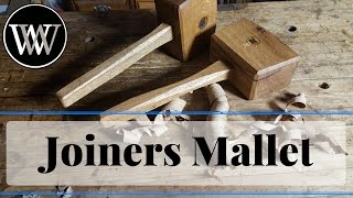 How to Make a Joiners Mallet, Building A First Woodworking Hand Tool