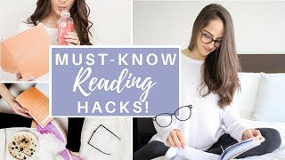 10 HACKS TO IMPROVE YOUR READING SKILLS!