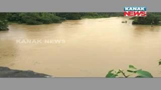 Water Level Rising Towards Danger Mark In Various Rivers In North Odisha