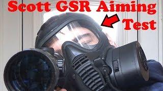 Scott GSR Scope and Iron sight aiming test