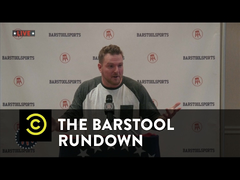 The Barstool Rundown Live from Houston Pat McAfee s Big Announcement
