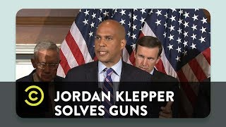 Jordan Klepper Solves Guns - Senator Cory Booker on Guns and Bacon