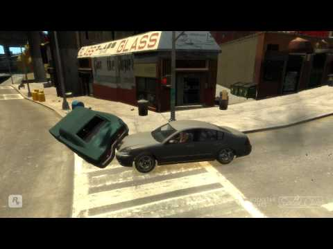 GTA IV Batidas de carro Crashs by car