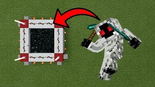 How To Make a Portal to the Entity 303 Dimension in MCPE (Minecraft PE)