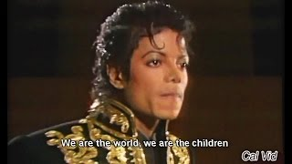 We Are The World (Lyrics) by Michael Jackson/Lionel Richie USA For Africa HD
