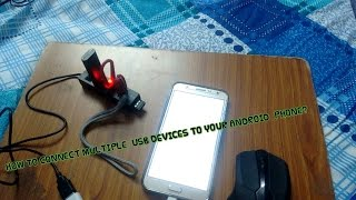 HOW TO CONNECT MULTIPLE USB DEVICES TO YOUR ANDROID PHONE?