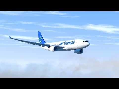 Flying On Empty Air Transat Flight 236 P3D