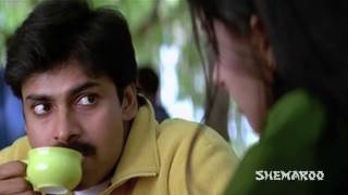 Kushi Telugu Full Movie Scenes | Pawan Kalyan Meets Bhoomika's Dad | Pawan Kalyan | Mani Sharma