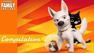 BOLT | All Clip and Trailer Compilation for Disney Family Animated Movie