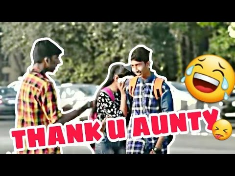 Calling Cute Girls 'AUNTY' Prank | Apna Prank | Prank in India