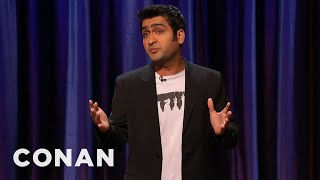 Kumail Nanjiani Stand-Up 02/24/11  - CONAN on TBS