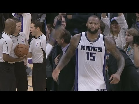 DeMarcus Cousins Drops 55 Pts Gets Ejected Angry Interview