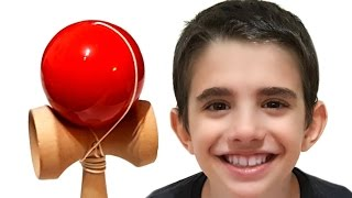 Learn Colors for Children with KENDAMA Tricks - Learning Colours for Babies