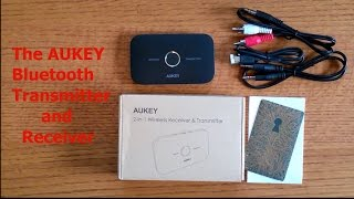 AUKEY Bluetooth Transmitter and Reciever