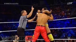 Jinder Mahal vs Shinsuke Nakamura WWE Championship Match   WWE SummerSlam Highlights 20 August 2017