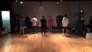 160618 Seunghoon IG Update❤ Dance practice for WINNER JAPAN TOUR 2016
