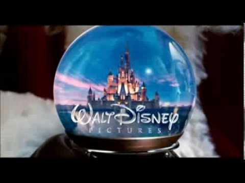 Walt Disney Pictures logo into a snow globe
